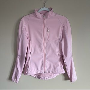 Nike FITSTORM Pink Running Jacket Size Small (4-6)